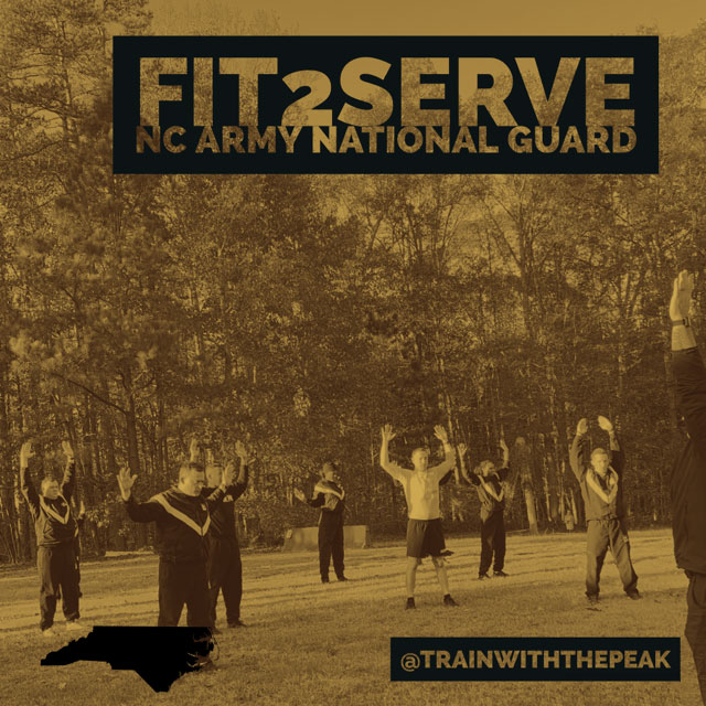 North Carolina Army National Guard Trusts The Peak Inc. to Enhance the Fitness of Their Force